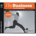 The Business pre-intermediate class audio CDs ( editura: Macmillan, autor: Karen Richardson, ISBN 978-0-230-02158-7 )
