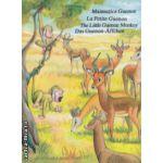 Maimutica Guenon / Le petite Guenon / The Little Guenon Monkey / Das Guenon - Affchen Carte de colorat si decupat ( Editura : Alcor , ISBN 978-98341-6-7 )