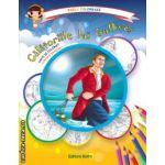 Colectia Carla coloreaza : Calatoriile lui Gulliver - carte de colorat + poveste (editura : Astro , ISBN 978-606-8148-63-2 )