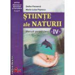 Stiinte ale Naturii manual clasa a IV - a ( editura : Akademos Art , autor : Stefan Pacearca , Maria-Luiza Popescu , ISBN 978-973-87546-9-0 )