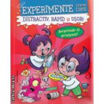 Experimente pentru copii Distractiv rapid si usor ( rosie ) ( Editura : Nomina , Autor : Alexandre Wajnberg ISBN 978-606-535-614-6