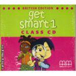 Get Smart 1 Class CD ( editura : MM Publications , autor : H.Q. Mitchell , ISBN 978-960-478-865-1 )