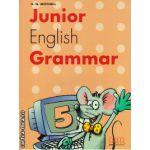 Junior English Grammar 5 ( editura : MM Publications , autor : H.Q. Mitchell , ISBN 978-960-379-344-1 )