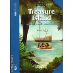 Top Readers - Treasure Island - Level 3 reader Pack : including glossary + CD ( editura : MM Publications , autor : R.L. Stevenson , ISBN 978-960-443-722-1 )