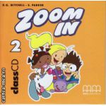 Zoom In 2 Class CDs ( editura : MM Publications , autor : H.Q. Mitchell , ISBN 978-960-379-272-7 )