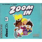 Zoom In 3 Class CDs ( editura : MM Publications , autor : H.Q. Mitchell , ISBN 978-960-379-282-6 )