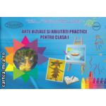 Arte vizuale si abilitati practice pentru clasa I ( Editura : Ars Libri , Autor : Adina Grigore , Ioana Neagoe ISBN 978-606-574-392-2 )