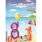 Carte de  colorat cu abtibilduri Cifre ( Editura : Ars Libri , Autor : Adina Grigore ISBN 9786065741522 )