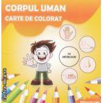 Corpul uman carte de colorat cu abtibilduri ( Editura : Ars Libri , Autor : Adina Grigore ISBN 9786065742291 )
