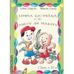 Limba romana cu Andy si Marty clasa a IV a ( Editura : Ars Libri , Autor : Adina Grigore , Mihaela Crivac ISBN 978-606-8088-13-6 )