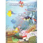 Carte de colorat cu abtibilduri Pesti ( Editura : Ars Libri ISBN 9786065743984 )