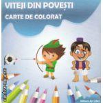 Viteji din poveste carte de colorat ( Editura : Ars Libri , Autor : Adina Grigore ISBN 978-606-574-238-3 )