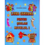 Limba germana pentru scolari Nivelul I ( Editura: Carta Atlas, Autor: Alexandrina Ciobanu ISBN 9786069366189 )