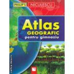 Atlas geografic pentru gimnaziu ( Editura : Niculescu , Autor : Ionut Popa ISBN 9789737488329 )