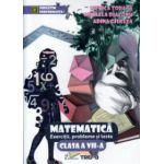 Matematica exercitii, probleme si teste clasa a VII -a ( Editura: Trend, Autor: Monica Topana, Mihaela Diaconu, Adina Giuglea ISBN 978-606-8370-64-4 )
