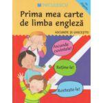 Prima mea carte de limba engleza, ascunde si ghiceste, cu clapete ( Editura: Niculescu, ISBN 978977489050 )