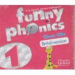 Funny Phonics 1 Class CD's British Version ( Editura: MM Publications, H. Q. Mitchell, Marileni Malkogianni ISBN 978-960-478-878-1 )