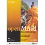 Open Mind Student 's Book Pack Level 2a 2nd edition with DVD ( Editura: Macmillan, Autor: Mickey Rogers, Joanne Taylore - Knowles, Steve Taylore - Knowles ISBN 9780230459434 )