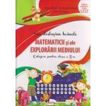 Sa deslusim tainele matematicii si ale explorarii mediului culegere pentru clasa a II a ( Editura: Aramis, Autor: Alina Pertea, Rodica Chiran, Dumitra Radu ISBN 978-606-706-181-9 )