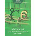 Matematica, caiet pentru vacanta de vara clasa a VI a, Clubul Matematicienilor ( Editura: Art grup Editorial, Autor: Marius Perianu, Catalin Stanica, Daniela Stanica ISBN 978-973-124-887-5 )