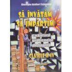 Sa invatam sa impartim cu ajutorul problemelor de tip grila clasele II-IV ( Editura: Hyperion, Autor: Gheorghe Adalbert Schneider ISBN 978-606-589-042-8 )
