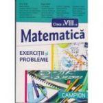 Matematica pentru clasa a VIII -a exercitii si probleme ( Editura: Campion, Autor: Dana Radu, Eugen Radu ISBN 9786068323848 )