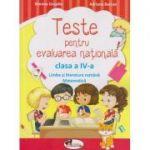 Teste pentru evaluarea nationala clasa a IV-a Limba si literatura romana, matematica ( Editura: Aramis, Autor: Simona Grujdin, Adriana Borcan ISBN 978-606-706-322-6 )