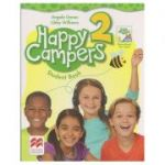 Happy Campers 2 Student's Book + The Language Lods ( Editura: Macmillan, Autor: Angela Llanas, Libby Williams ISBN 978-0-230-47071-2 )