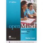 Open Mind Digital Student s Book Premium Pack Level Starter Second Edition ( Editura: Macmillan, Autor: Dorothy E. Zemach ISBN 978-0-230-49501-2 )