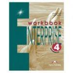 Curs limba engleză Enterprise 4 Caietul elevului ( Editura: Express Publishing, Autor: Virginia Evans ISBN 9781842168233 )