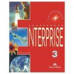 Curs limba engleză Enterprise 3 Manualul elevului ( Editura: Express Publishing, Autor: Virginia Evans, Jenny Dooley ISBN 9781842168110 )