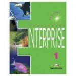 Curs limba engleză Enterprise 1 Manualul elevului ( Editura: Express Publishing, Autor: Virginia Evans, Jenny Dooley ISBN 9781842160893 )