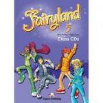 Curs limba engleză Fairyland 5 Audio CD (set 3 CD) ( Editura: Express Publishing, Autor: Jenny Dooley, Virginia Evans ISBN 9780857770509 )