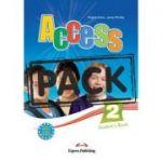 Curs limba engleza Access 2 Pachetul elevului cu ieBook ( Editura: Express Publishing, Autor: Virginia Evans, Jenny Dooley ISBN 978-1-78098-052-2 )