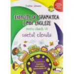 Exercitii de gramatica Limbii Engleza pentru clasele I-IV caietul elevului ( Editura: Aramis, Autor: Cristina Johnson ISBN 978-606-706-173-4 )