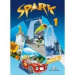 Curs lb. engleza SPARK 1 Monstertrackers – AUDIO CD ( Set de 3 CD-uri ) ( Editura: Express Publishing, Autor: Virginia Dooley, Jenny Evans ISBN978-1-84974-680-9 )