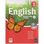 Macmillan English 1 Practice Book + CD-ROM ( Editura: Macmillan, Autor: Mary Bowen, Printha Ellis, Louis Fidge, liz Hocking, Wendy Wren ISBN 978-0-230-43456-1 )