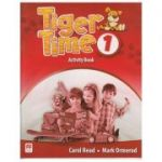 Tiger Time 1 Activity Book ( Editura: Macmillan, Autor: Carol Read, Mark Ormerod ISBN 978-0-230-48357-6 )