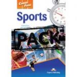 Curs limba engleză Career Paths Sports pachetul elevului (manual elev + audio CD) ( Editura: Express Publishing, Autor: Virginia Evans, Jenny Dooley, Alan Graham ISBN 9781471505812 )