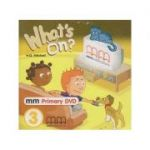 What s on 3 DVD PAL ( Editura: MM Publications, Autor: H. Q. Mitchell ISBN 978-960-443-141-0 )