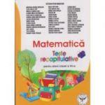 Matematica Teste Recapitulative pentru elevii clasei a VII-a ( Editura: Icar, Autor: Catalin-Petru Nicolescu ISBN 9789736065200 )