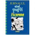 Jurnalul unui pusti vol 12. Escapada ( Editura: Arthur, Autor: Jeff Kinney, ISBN 9786067882896 )