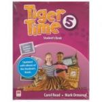Tiger Time 5 Student's Book with eBook ( Editura: Macmillan Education, Autori: Carol Read, Mark Ormerod ISBN 978-1-78632-968-4)