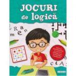 Jocuri de logica (verde, baieti) ( Editura: Flamingo, ISBN 978-606-713-084-3)