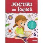 Jocuri de logica (rosu, fete) ( Editura: Flamingo, ISBN 978-606-713-085-0)