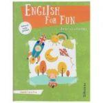 English for Fun, jocuri si activitati clasele 1 si 2 +material audio gratuit ( Editura: Booklet ISBN 978-606-590-559-7 )