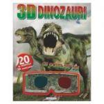 Dinozauri cu ochelari 3D+ abtibilduri( Editura: Girasol ISBN 978-606-525-913-3)