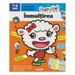 Happy Mat, carte de activitati, Inmultirea 7-8 ani ( Editura: Girasol ISBN 9786065258839 )
