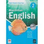 Macmillan English 2 Digital Student s Book Pack ( Editura: Macmillan, Autor(i): Mary Bowen, Printha Ellis, Louis Fidge ISBN 978-1-786-32101-5 )