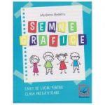 Semne grafice caiet de lucru pentru clasa pregatitoare(Editura: Booklet, Autor: Marilena Nedelcu ISBN 978-606-590-606-8 )